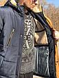 Зимняя мужская куртка Fill синий (48-58), фото 3