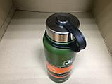 Термос профессиональный Jiakand (800 мл). Зеленый (15 часов тепла), фото 2