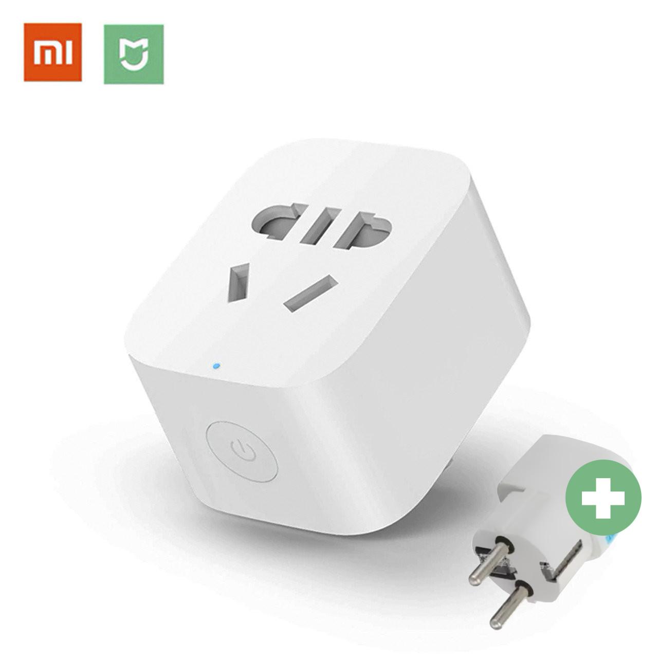 Умная розетка Xiaomi MiJia Smart Socket 2 Wi-Fi (ZNCZ04CM) умный смарт дом smart house