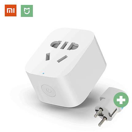 Умная розетка Xiaomi MiJia Smart Socket 2 Wi-Fi (ZNCZ04CM) умный смарт дом smart house, фото 2