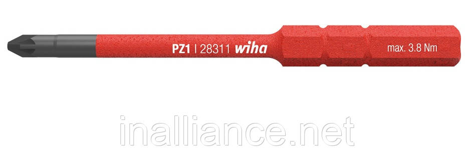 Бита PZ1 SoftFinish electric slimBit Wiha 34585