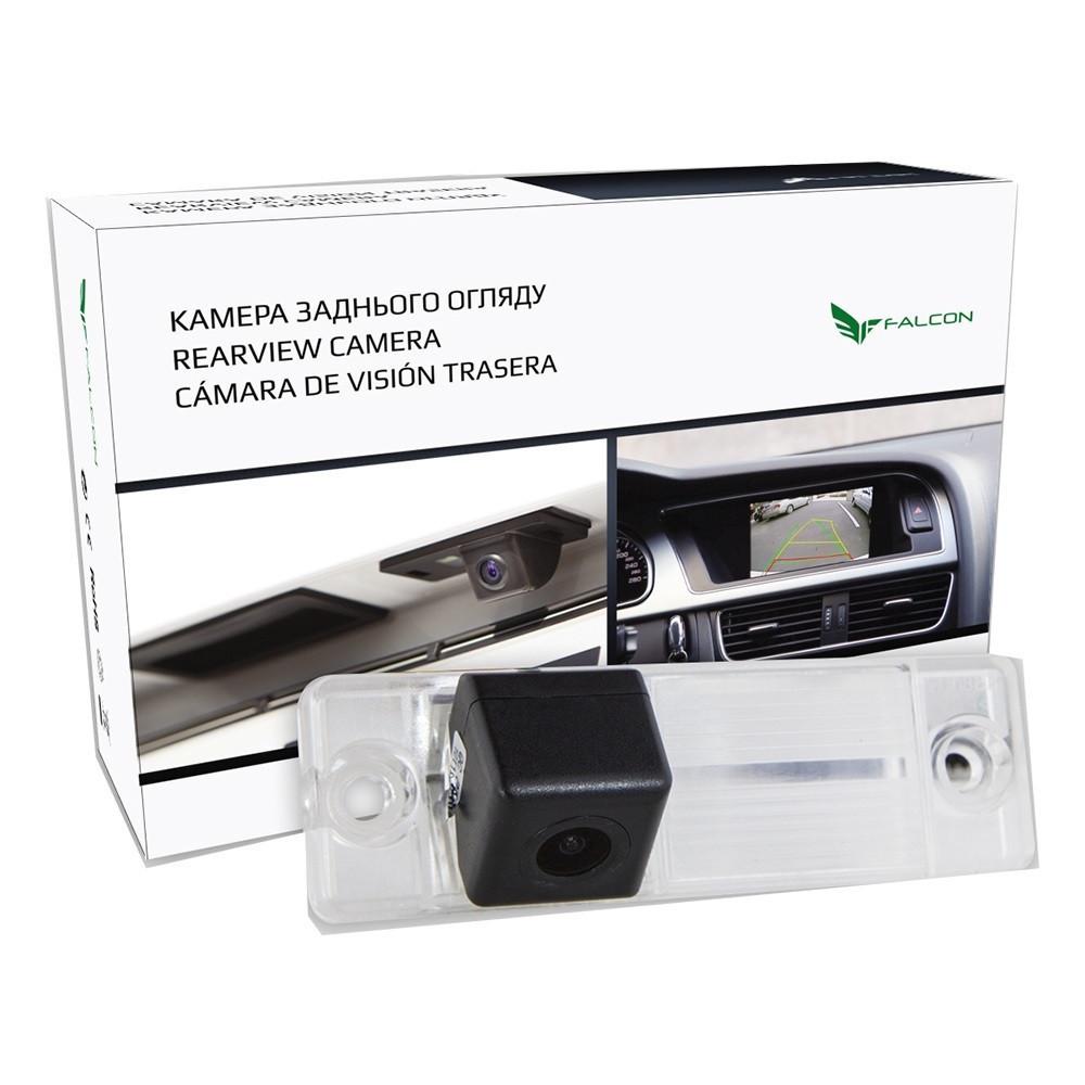 Штатная камера заднего вида Falcon SC115-XCCD. Lifan Cebrium 2006+/Smily 2006+/X60 Cebrium 2011+
