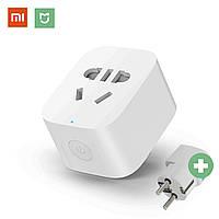 ★Умная розетка Xiaomi Mi Smart Socket 2 Wi-Fi (ZNCZ04CM) smart home умный дом