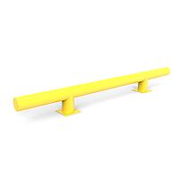 Колесоотбойники 1000*200,труба 89 толщина 3,5 мм