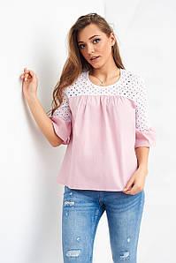 Рубашки, блузы Стимма Рубашка Анила пудровая размер XS XS (Р1926) #L/A