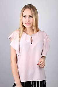 Рубашки, блузы Стимма Рубашка Асия пудровая L L #L/A