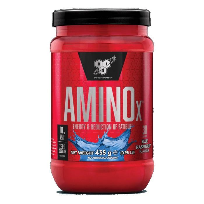 BSN Amino X - 0,435 кг - голубая малина, фото 1
