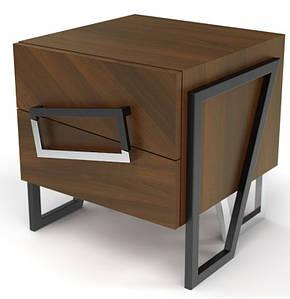 Дизайнерская тумба офисная Angle Walnut TM Esense