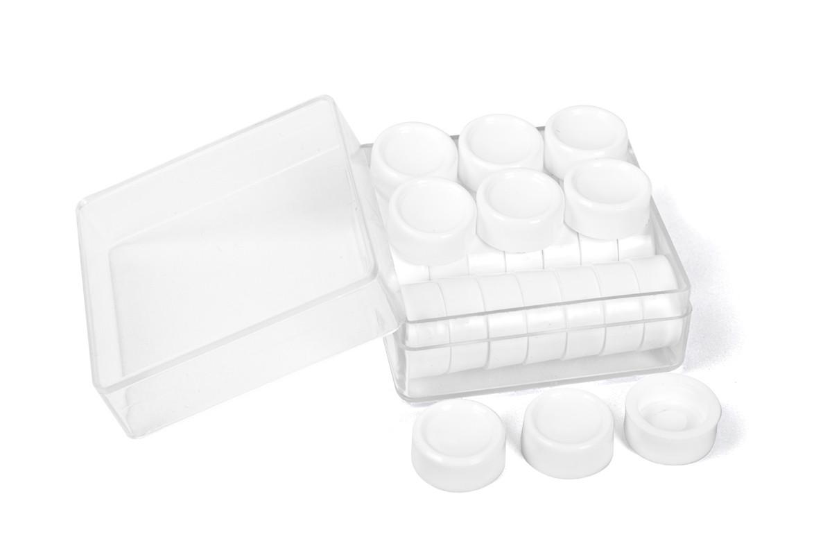 Фишки для настольных игр белые (30шт.)