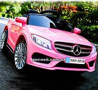 Детский электромобиль M 2772 EBLR-8 Mercedes с EVA колесами, розовый