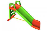 Горка для катания детей Долони зелено-красная 0140/04, Doloni, гірка долоні