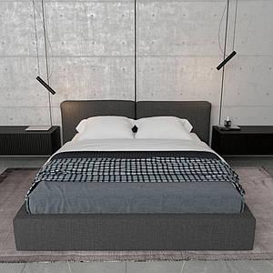 """Дизайнерская кровать """"Pure"""" 160*200 TM Esense"""
