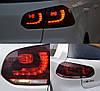 Задние фонари тюнинг LED оптика Volkswagen Golf 6 стиль R20 красные, фото 2