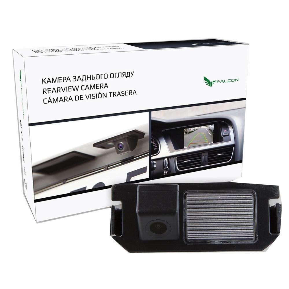 Штатная камера заднего вида Falcon SC118-XCCD.Hyundai Genesis 2001+/i10 2014+/i20 2008+/i30 2007+/Kia Picanto