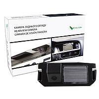 Штатная камера заднего вида Falcon SC118-XCCD.Hyundai Genesis 2001+/i10 2014+/i20 2008+/i30 2007+/Kia Picanto, фото 1