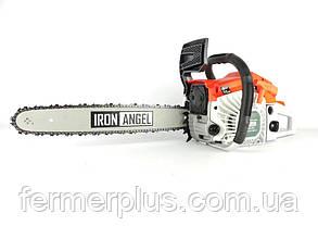 Бензопила Iron Angel СS630 (3.8 л.с.., шина 45 см, полупроф.) Бесплатная доставка