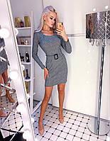 Платье женское стильное шерстяное 42 44 46