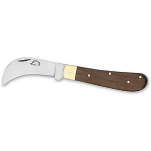 Нож садовый с рукояткой из палисандра Greffoir 3612