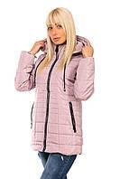 Куртка женская демисезонная с капюшоном размеры 46-54 K815