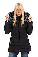 Куртка женская холодная весна с капюшоном размеры 46-54 K815