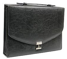 Деловая папка-портфель из эко кожи JPB AK-08