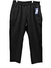 Мужские зимние спортивные штаны Olser трикотажные брюки Супербатал Черные