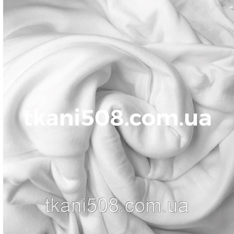 Ткань Флис  цвет Белый