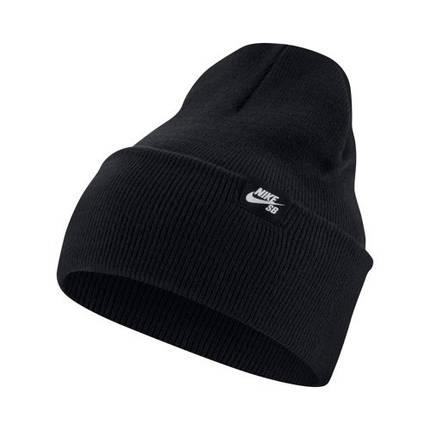 Шапка Nike SB Beanie CI4456-010 Черная (193147760217), фото 2