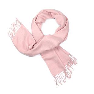 Палантин из шерсти розовый (Ш-506-1)