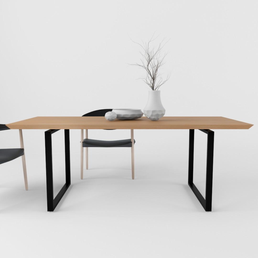 Дизайнерский обеденный стол Mod TM Esense