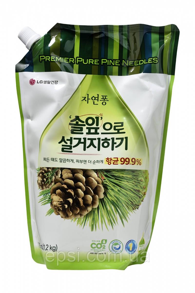 Средство для мытья посуды Natural Pong LG Хвоя, 1.2 л