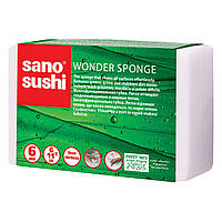 Чудо - губка для уборки Sano Sushi Wonder, 6 шт