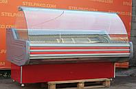 Холодильна вітрина гастрономічна «Технохолод Невада» 2.0 м. (Україна), дуже широка викладка 80 див., Б/в, фото 1