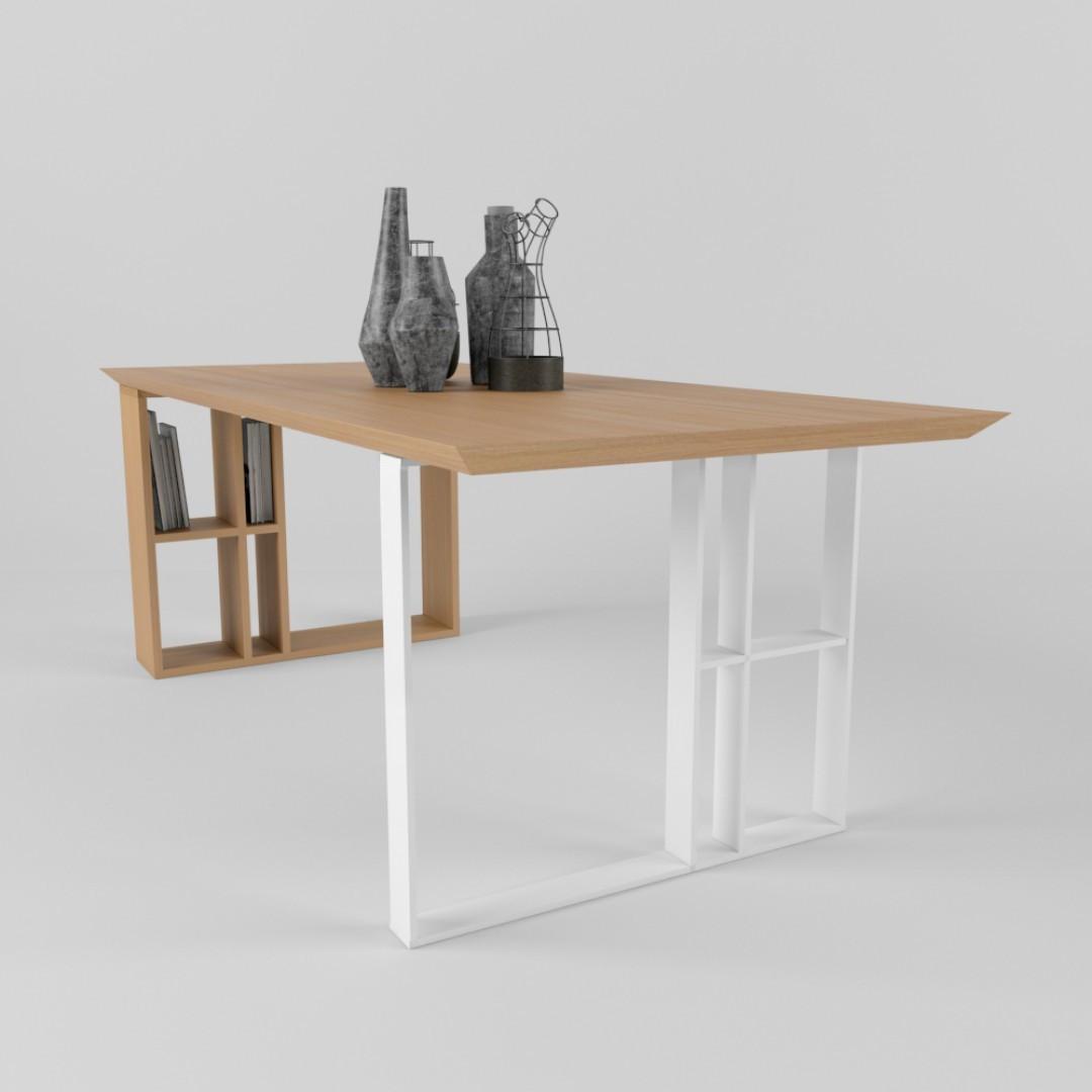 Дизайнерский обеденный стол Unit TM Esense