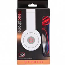 Наушники накладные HD stereo проводные, фото 2