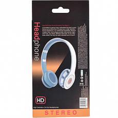Наушники накладные HD stereo проводные, фото 3
