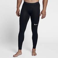 Термоштаны Nike Pro Tight 838067-010 черные (Оригинал)