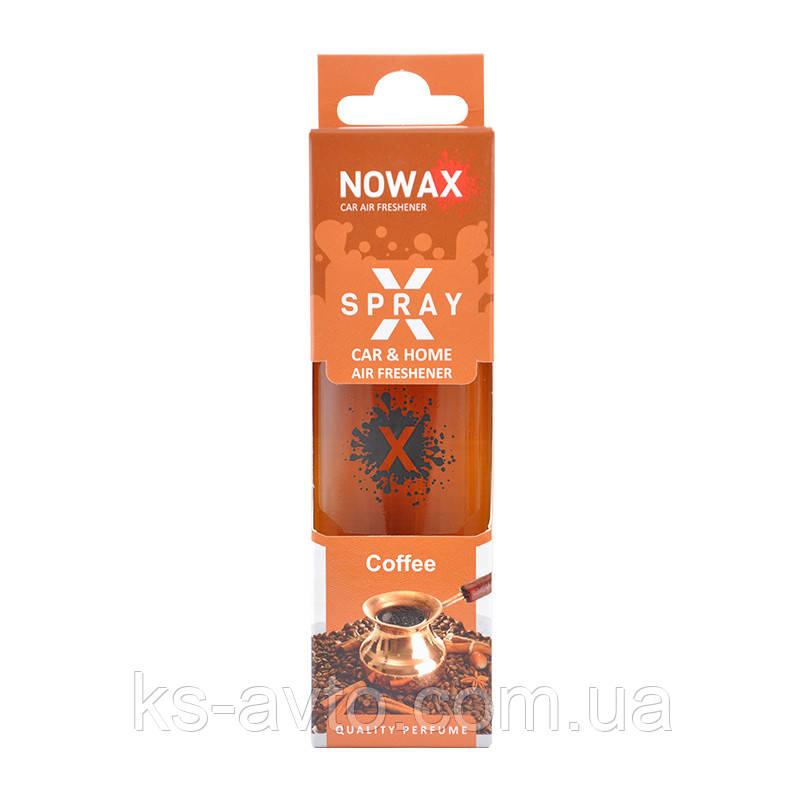 "Освежитель X Spray ""Coffee"" NOWAX"