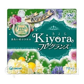Ежедневные гигиенические прокладки Sofy Kiyora Fresh, 72 шт