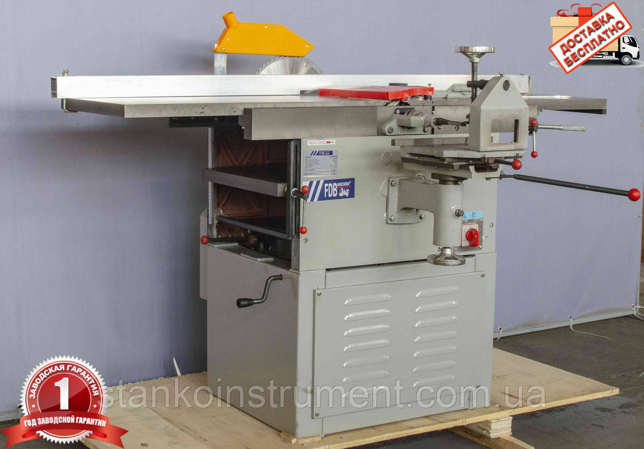 Станок деревообрабатывающий многофункциональный FDB Maschinen MLQ400M