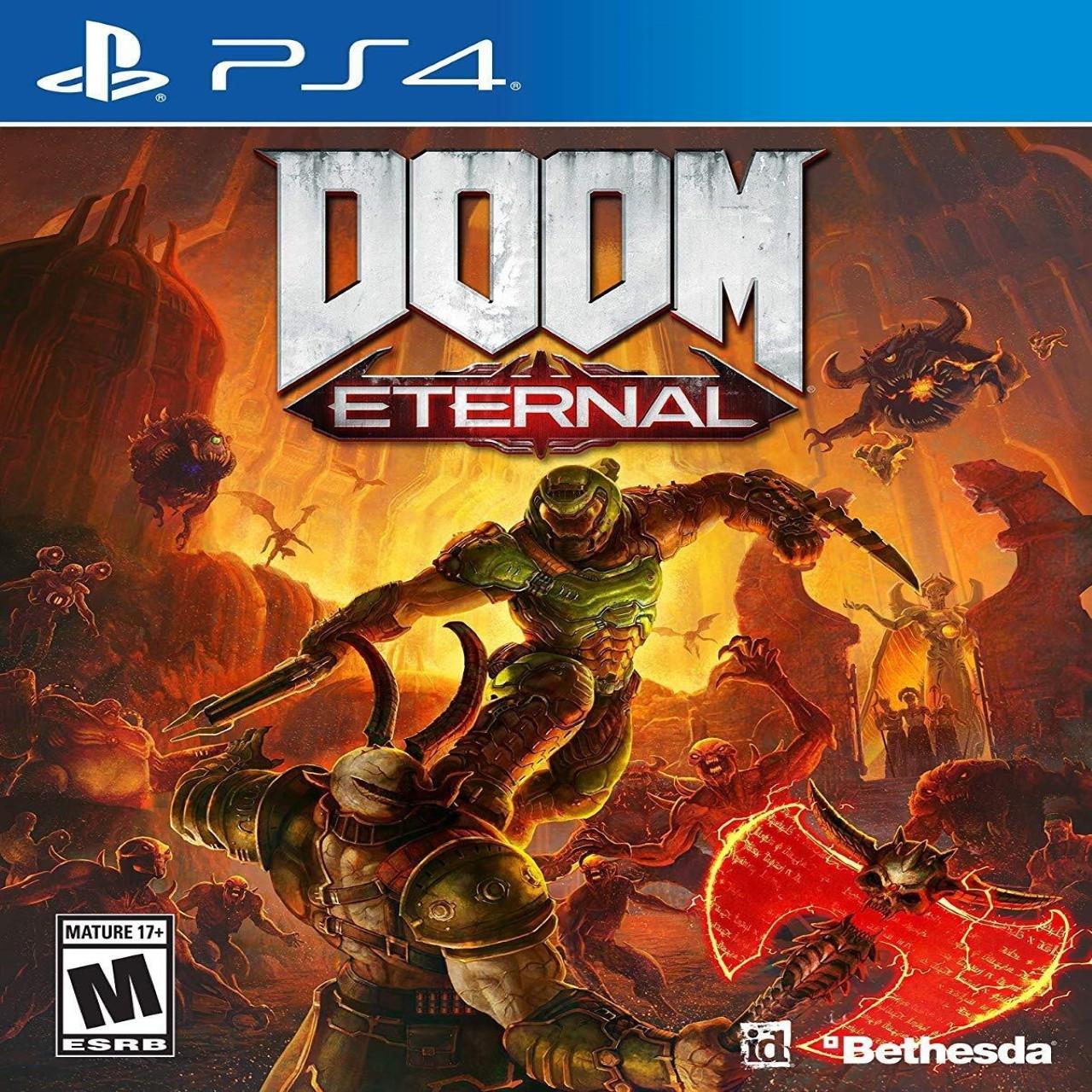 DOOM Eternal RUS PS4 (NEW)