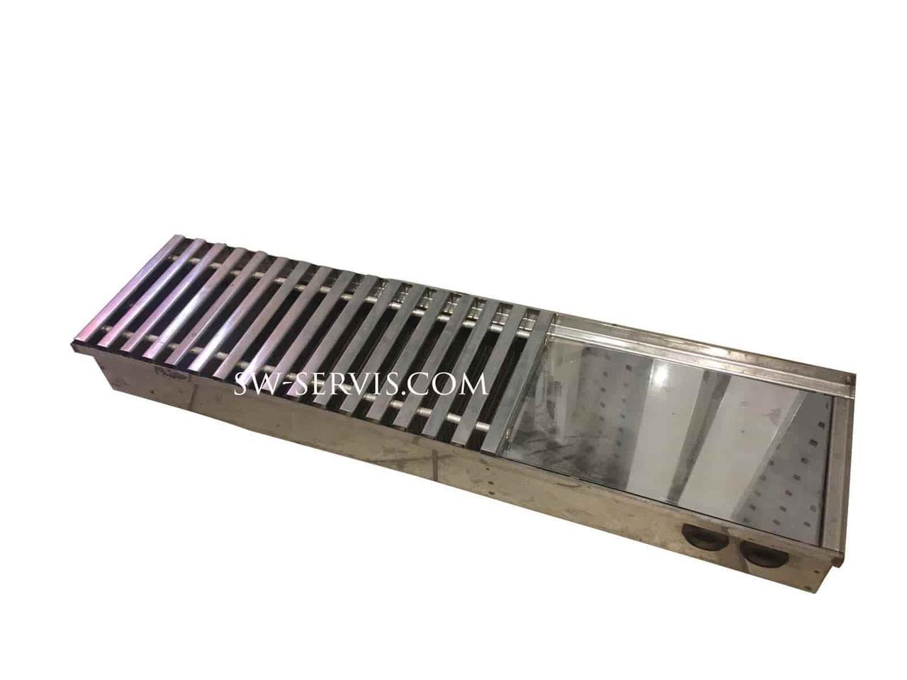 Радиатор внутрипольный 250*4500 radopol h-105 мм