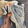 "Мужские зимние кроссовки Nike M2K Tekno ""Gray Orange"", фото 2"