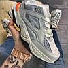"Мужские зимние кроссовки Nike M2K Tekno ""Gray Orange"", фото 4"