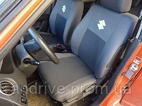 Авточехлы Suzuki Swift 2004-2010 г (цельный диван)