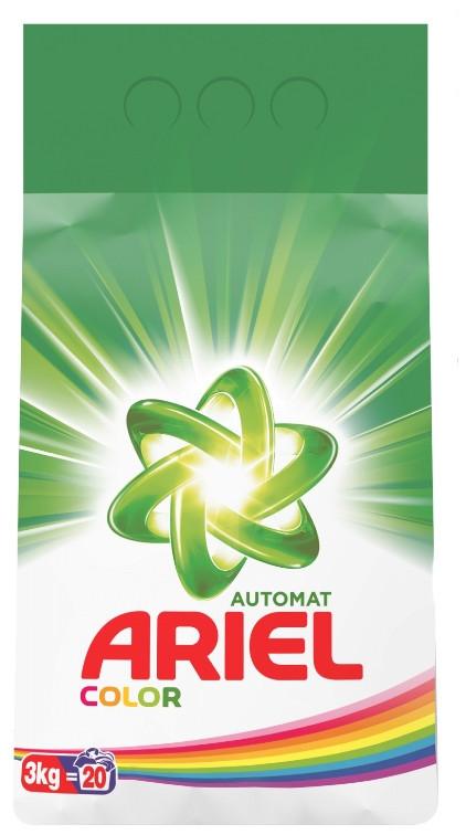 Порошок для автоматической стирки ARIEL для цветного белья (3 кг)