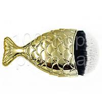 Кисть-рыбка для пудры и румян Global Fashion цвет в ассортименте