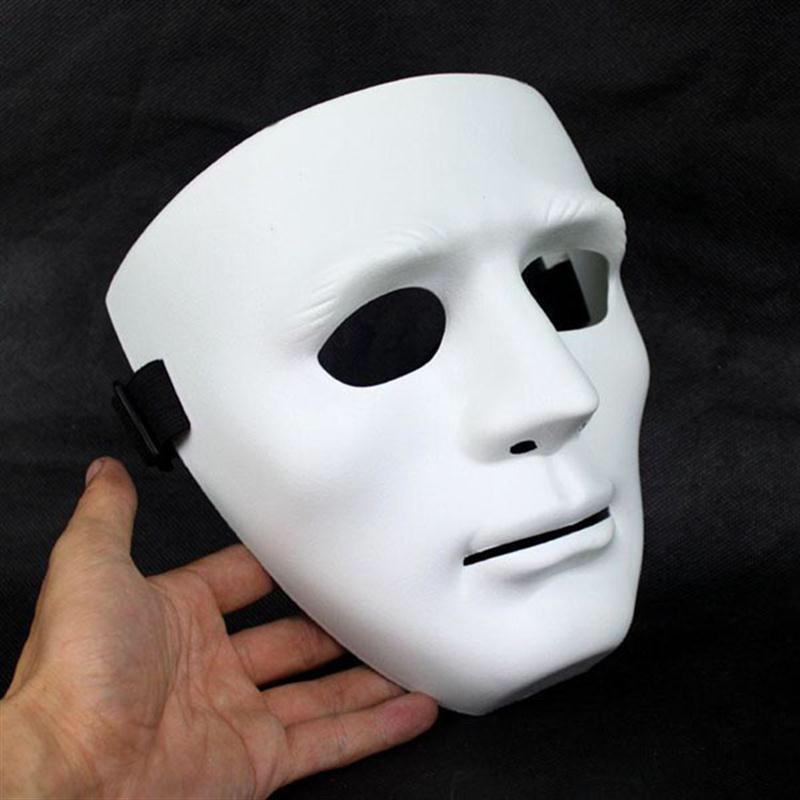 Маска без лица белая