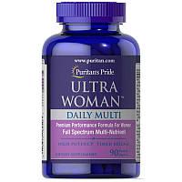 Мультивитамины для женщин Puritan's Pride Ultra Woman Daily Multi (90 таблеток), фото 1