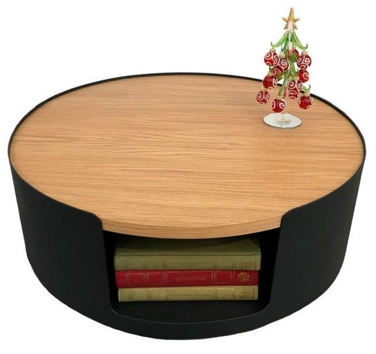 Дизайнерский журнальный столик Ovolo дуб TM Esense